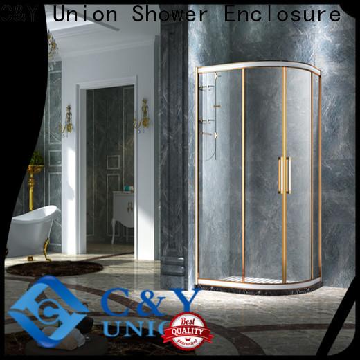 popular custom framed shower doors with sliding door for standalone showers