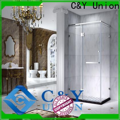 C&Y Union aluminum shower cabin for sale for bath
