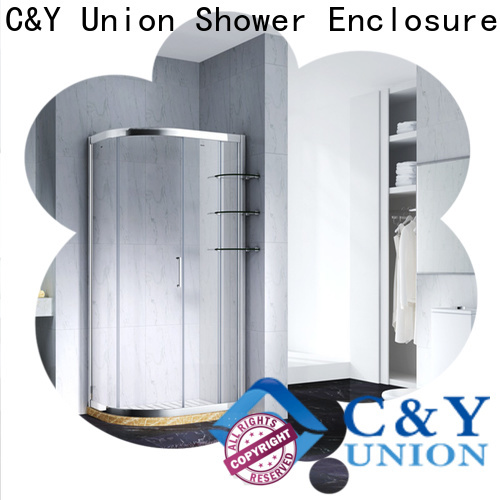 C&Y Union semi framed shower door for sale for alcove