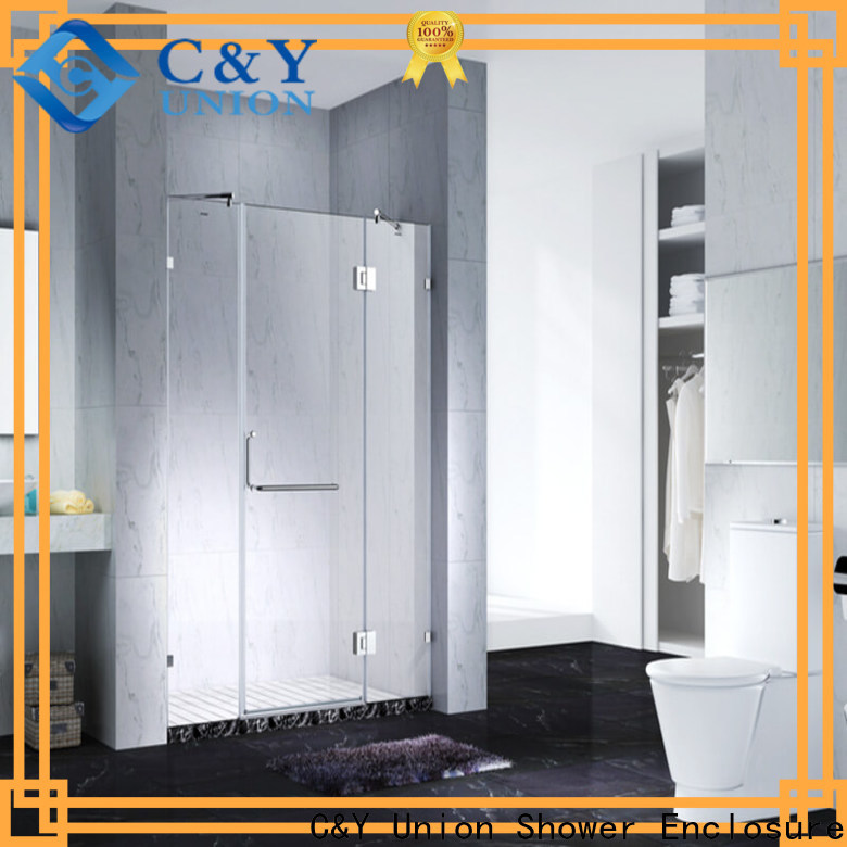 C&Y Union frameless shower for bathroom