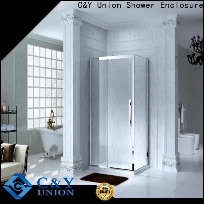 practical framed glass shower door for sale for bathroom