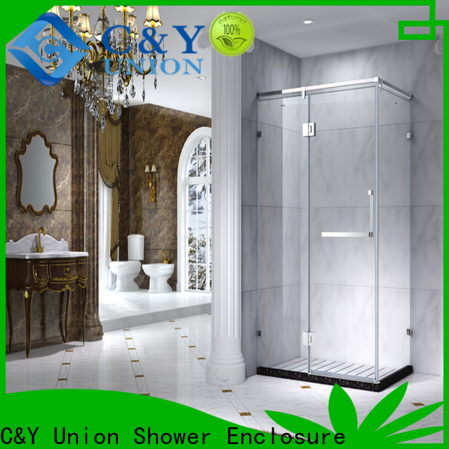 C&Y Union popular semi framed shower door for sale for bath