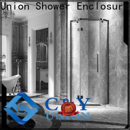 stable frameless glass shower shower screen for bathtub