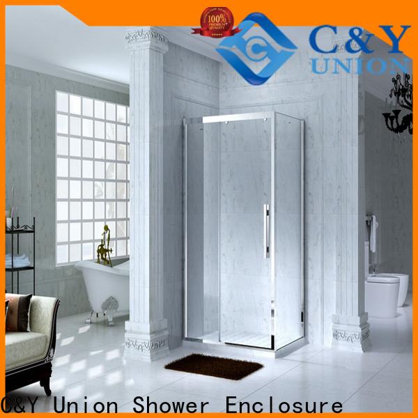 C&Y Union framed glass shower for sale for shower room