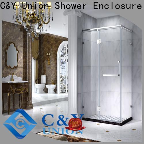 elegant semi framed shower door manufacturer for bagnio