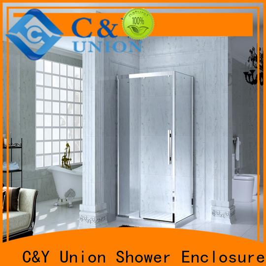 C&Y Union aluminum shower cabin for bathroom