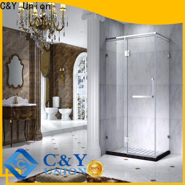 elegant shower cabin for bathroom