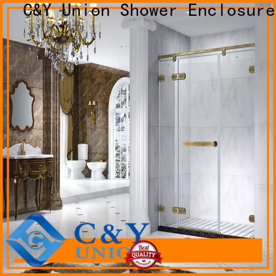 high quality frameless shower shower panels for bagnio