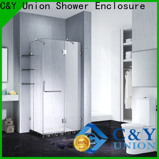 firm frameless shower enclosure shower screen for bathroom