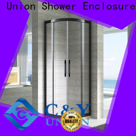 C&Y Union elegant semi framed shower for shower room