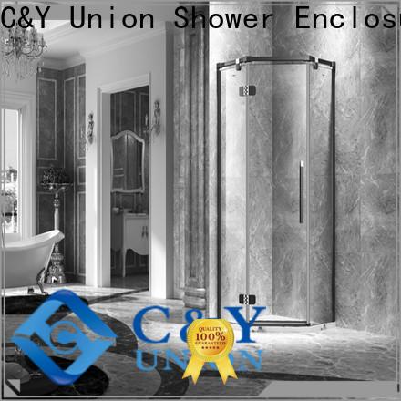 elegant frameless glass shower factory for bathroom