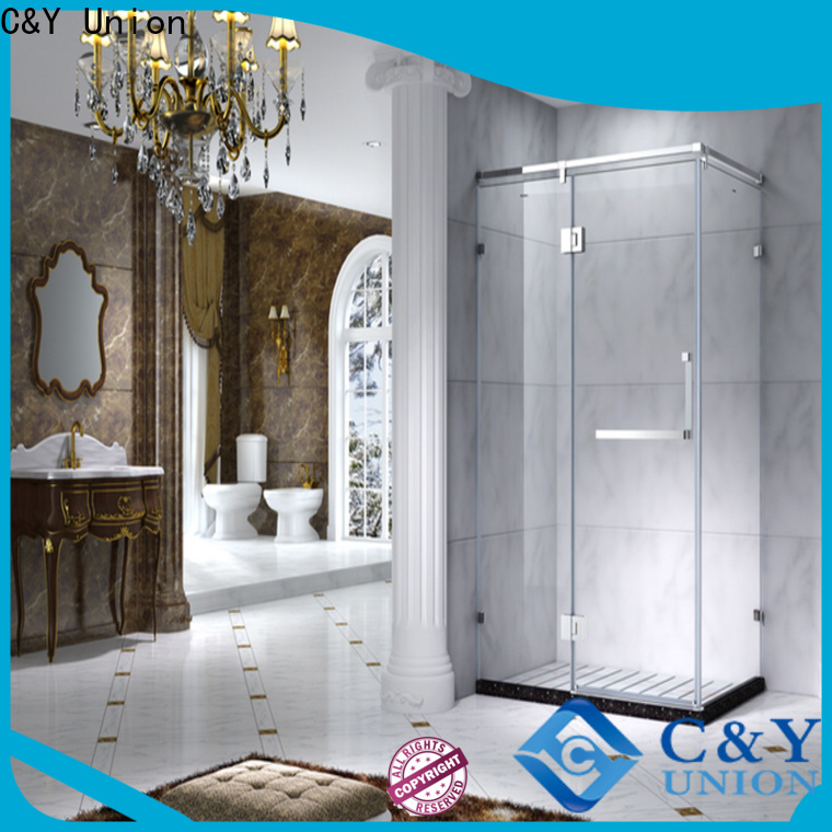 C&Y Union colorful semi framed shower manufacturer for alcove