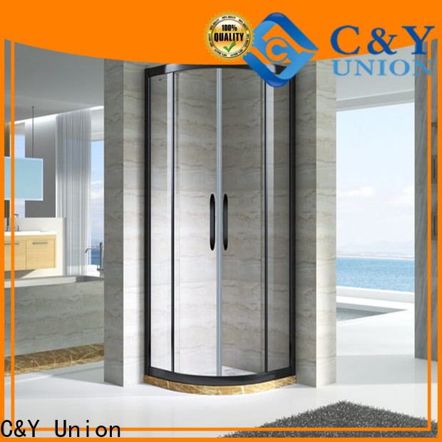 C&Y Union semi framed shower for sale for bathtub showers