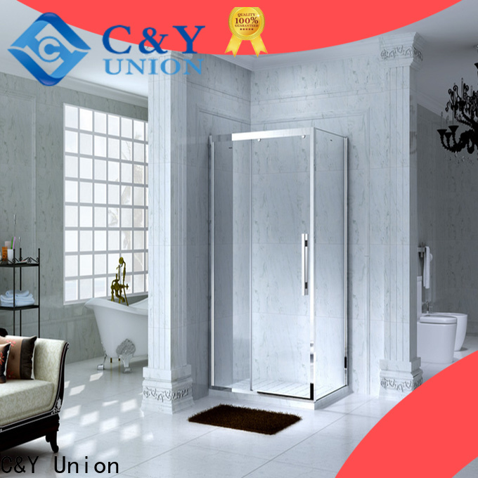 practical framed shower glass doors for sale for corner