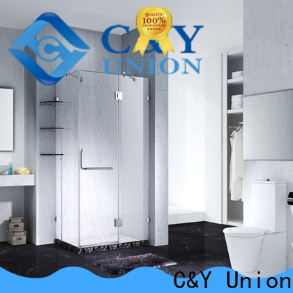 firm frameless shower screen cubicles for shower room