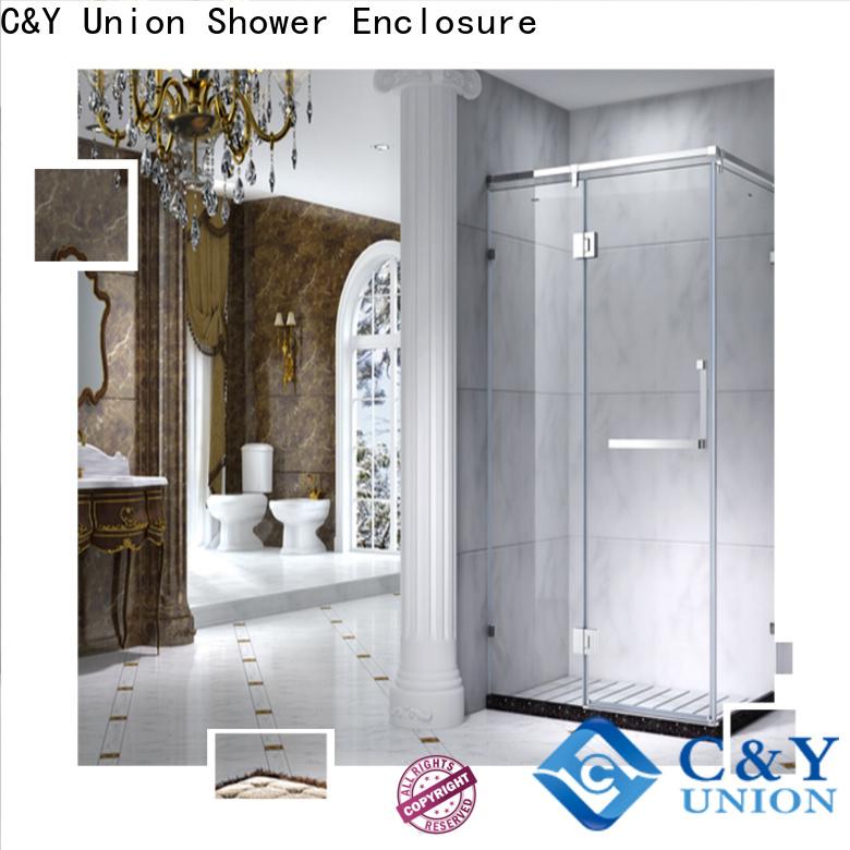 C&Y Union framed shower enclosure manufacturer for bagnio