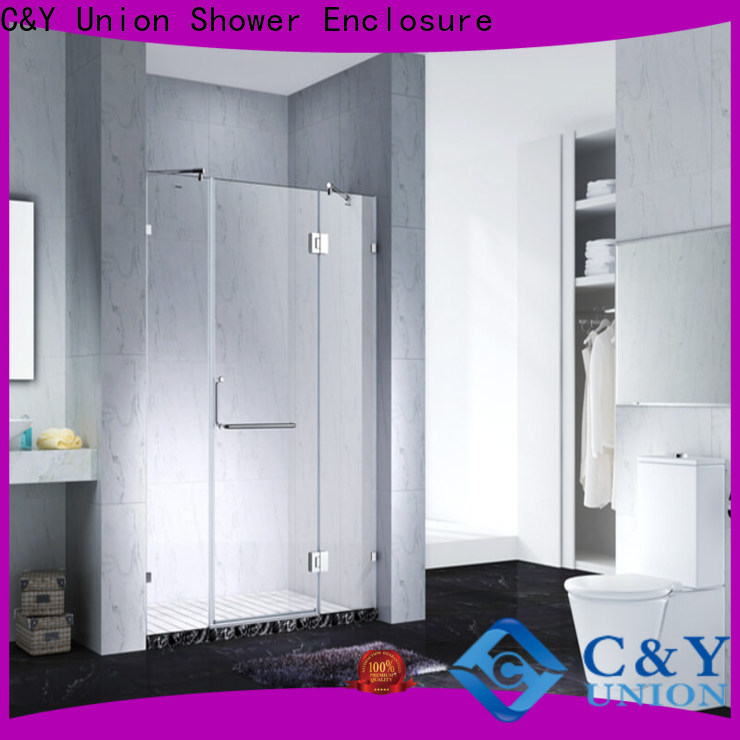 high quality frameless shower cubicles for bagnio