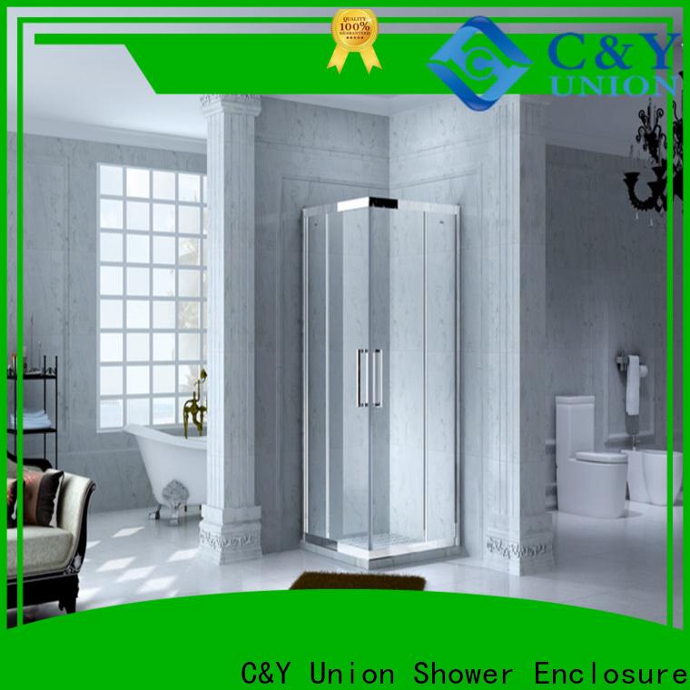 C&Y Union custom framed shower doors manufacturer for bagnio