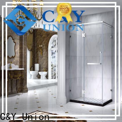 C&Y Union durable custom framed shower doors manufacturer for bathroom