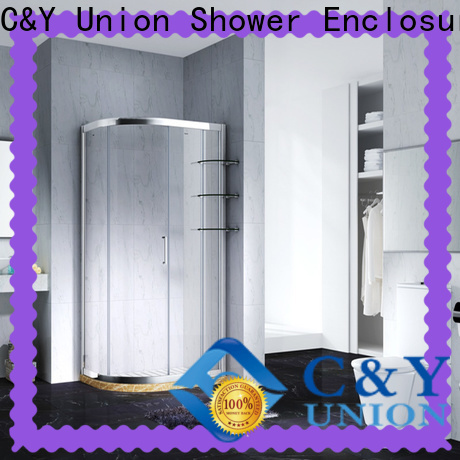 durable framed glass shower enclosure for sale for alcove