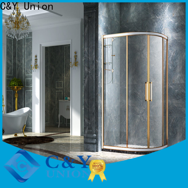 aluminum shower cabin for tub for standalone showers