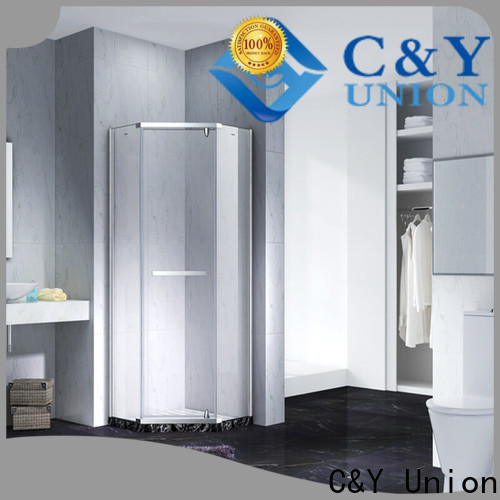 C&Y Union practical glass shower enclosures cubicles for tub