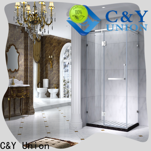 C&Y Union framed shower enclosure for tub for shower room