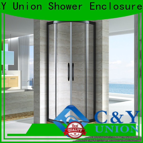 C&Y Union colorful custom framed shower doors for sale for bathtub showers