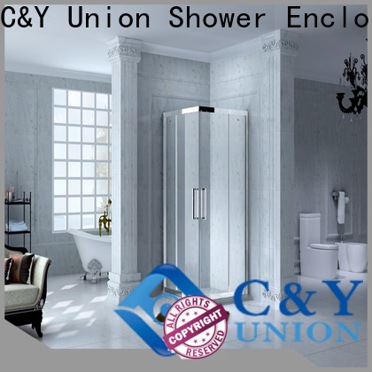 practical semi framed shower for tub for shower room