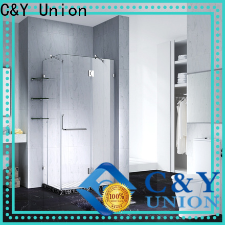 high quality semi frameless shower door shower screen for bathroom