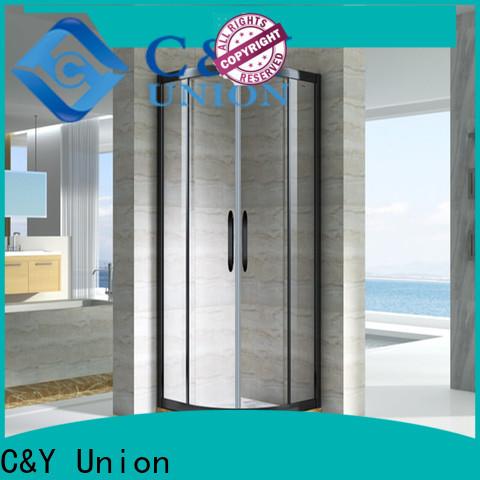 C&Y Union popular semi framed shower door for sale for bagnio