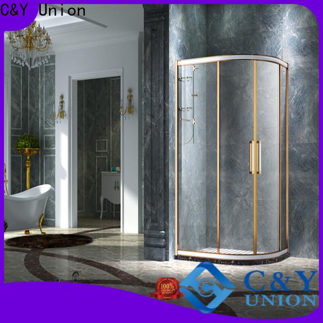 stainless steel framed shower glass doors for tub for corner