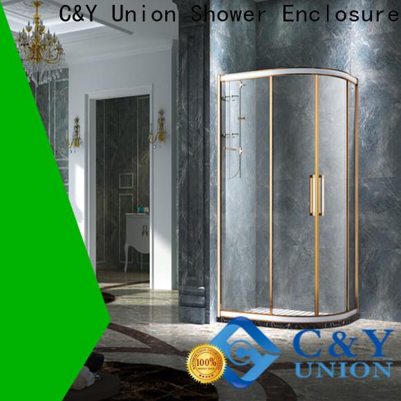 practical framed glass shower enclosure for sale for bath