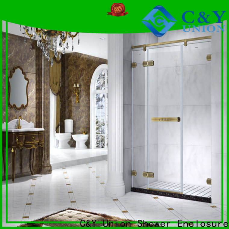 high quality glass shower enclosures easy clean for bathroom