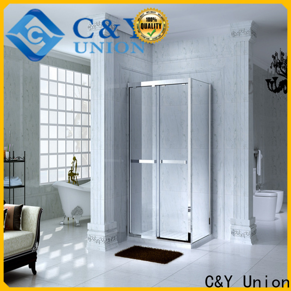 C&Y Union colorful shower cabin for sale for standalone showers