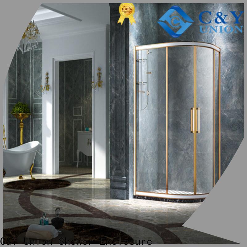 elegant custom framed shower doors for shower room