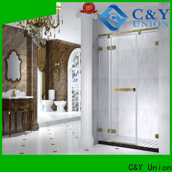 C&Y Union elegant glass shower enclosures factory for bagnio