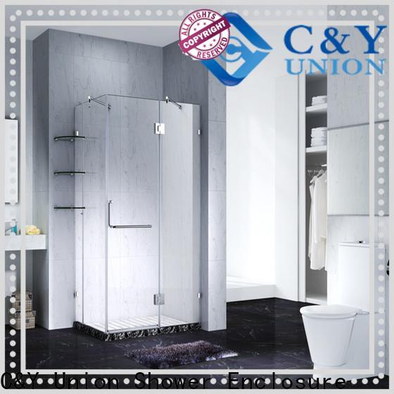 C&Y Union glass shower enclosures cubicles for bathroom