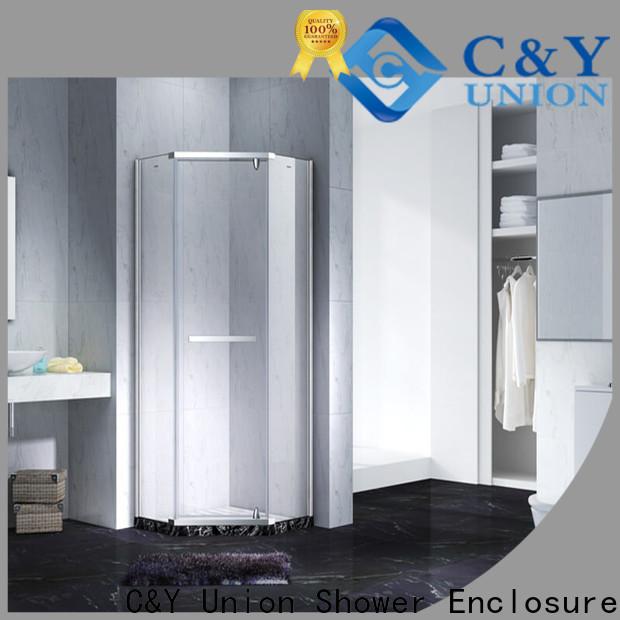 C&Y Union frameless shower factory for shower room