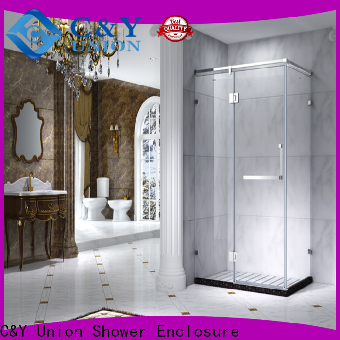 colorful shower cabin manufacturer for corner