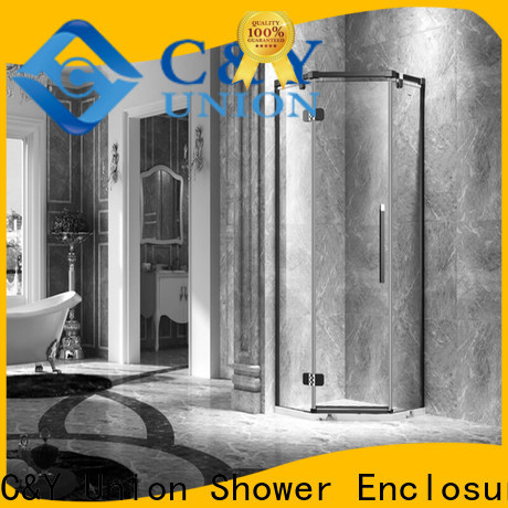 practical frameless shower screen shower panels for bagnio