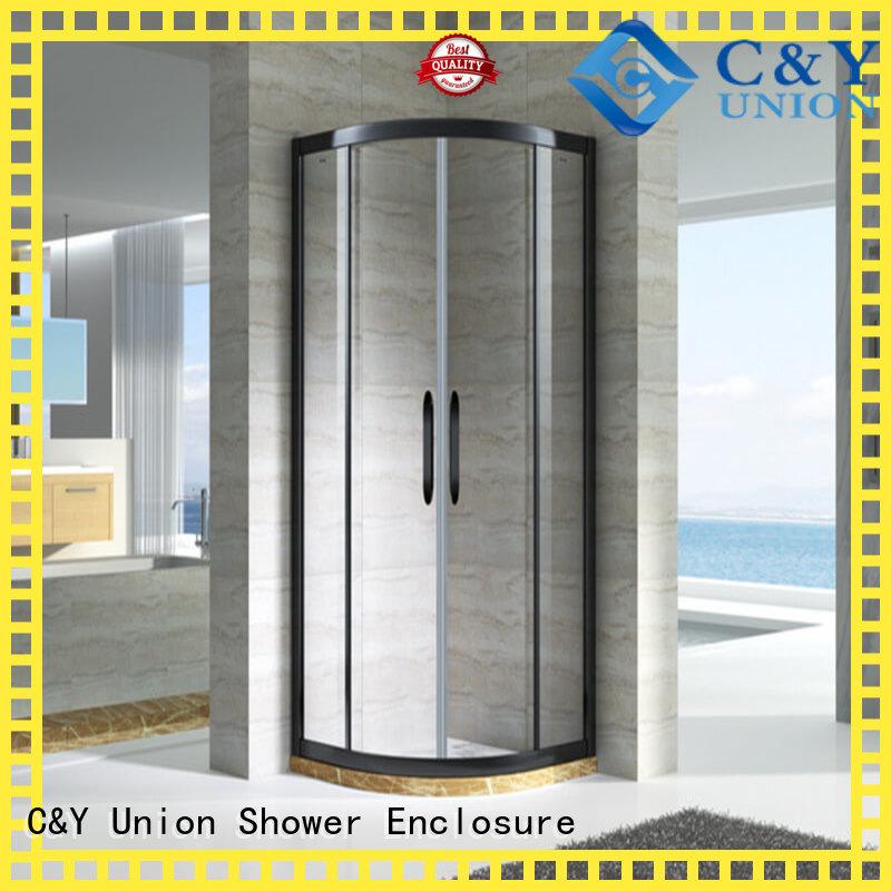 C&Y Union semi framed shower for corner