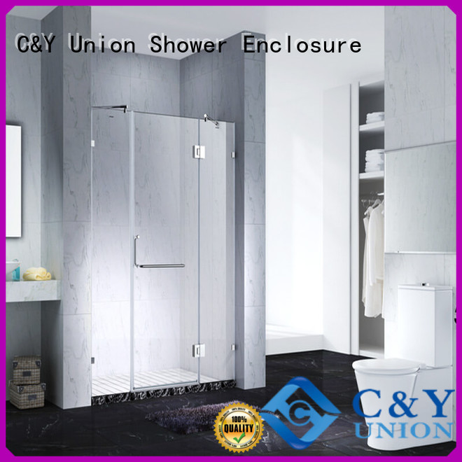 C&Y Union glass shower enclosures shower panels for shower room