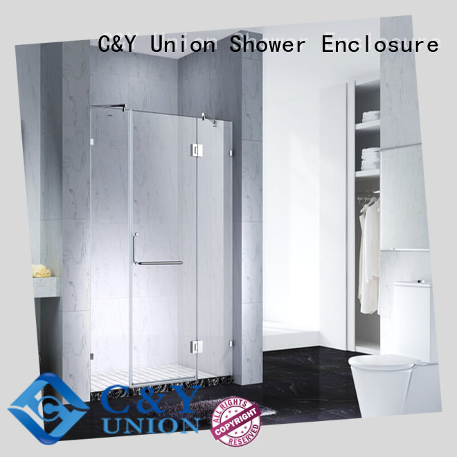 C&Y Union glass shower enclosures cabin for bath