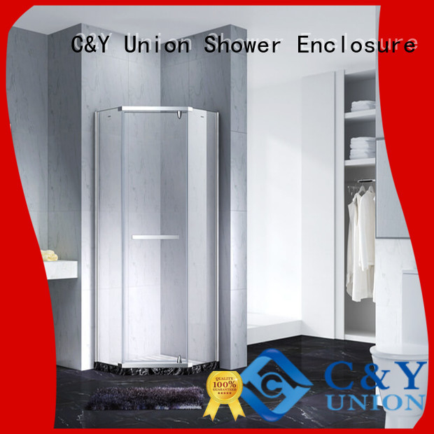 frameless glass shower shower screen for bagnio C&Y Union