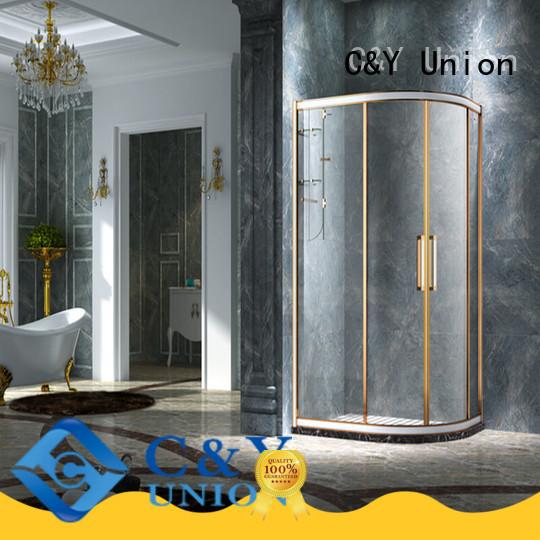 durable framed glass shower door manufacturer for bath