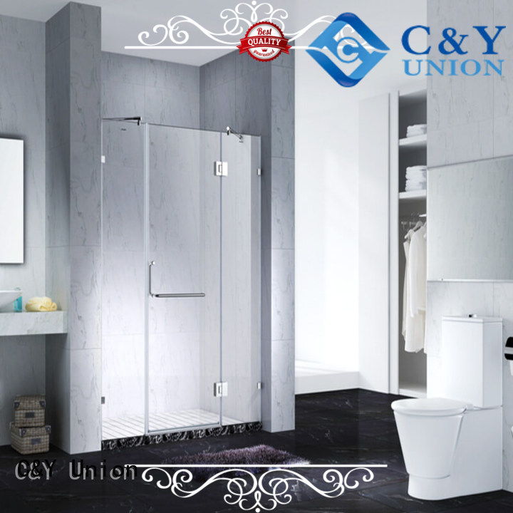 C&Y Union practical glass shower enclosures shower panels for bathroom