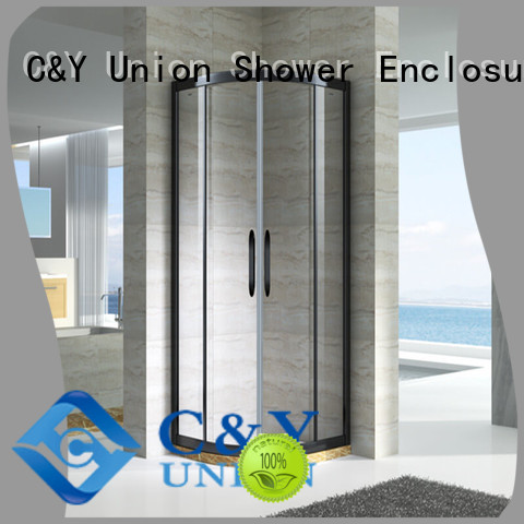 aluminum framed glass shower enclosure manufacturer for bagnio