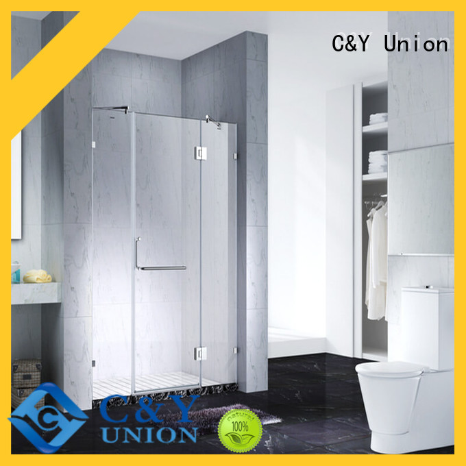 C&Y Union stable glass shower enclosures cubicles for bath