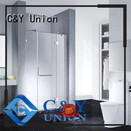 elegant semi frameless shower door cabin for shower room